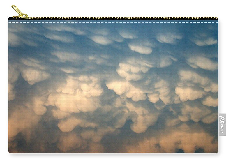 Cloud Carry-all Pouch featuring the photograph Cloud Texture by Shane Bechler