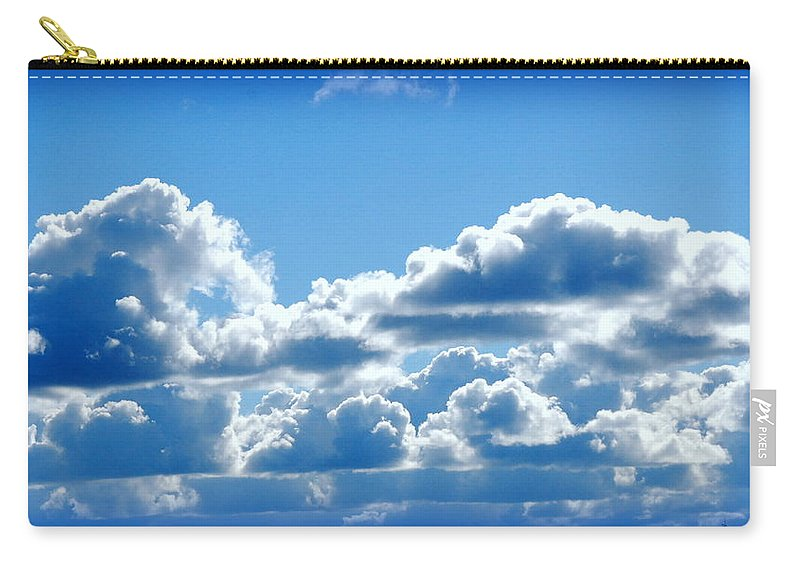 Cloud Carry-all Pouch featuring the photograph Clouds Of Glory II by Kathy Sampson