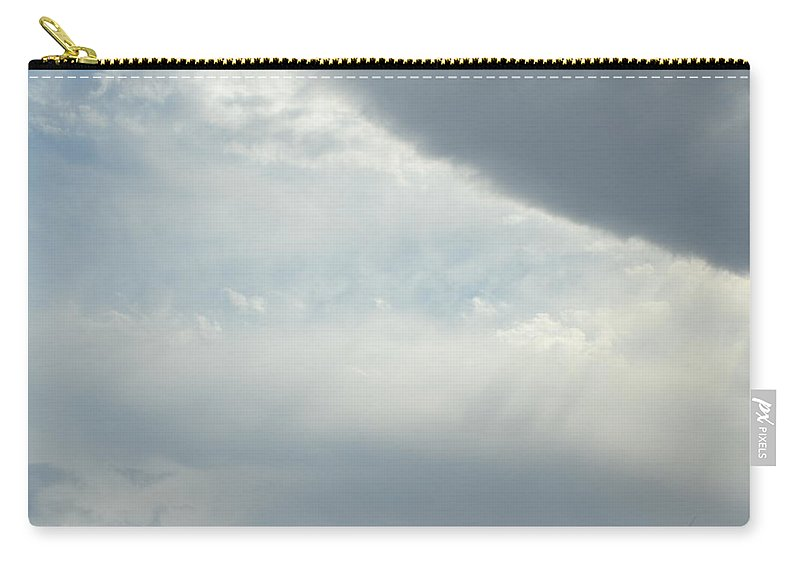 Clouds Carry-all Pouch featuring the photograph Clouds Of Light by Kim Stafford