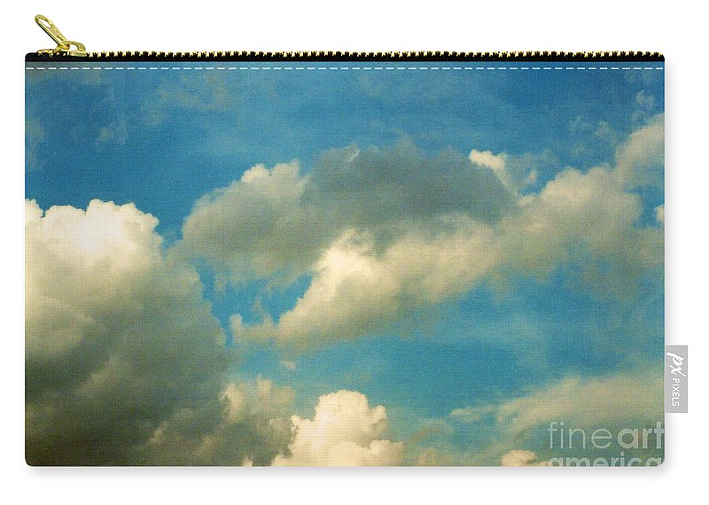 Comfortable Carry-all Pouch featuring the photograph Clouds Of Tomorrow by Anita Lewis