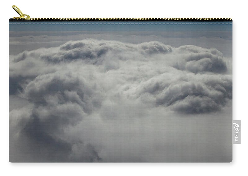 Clouds Carry-all Pouch featuring the photograph Clouds Over California by John Daly