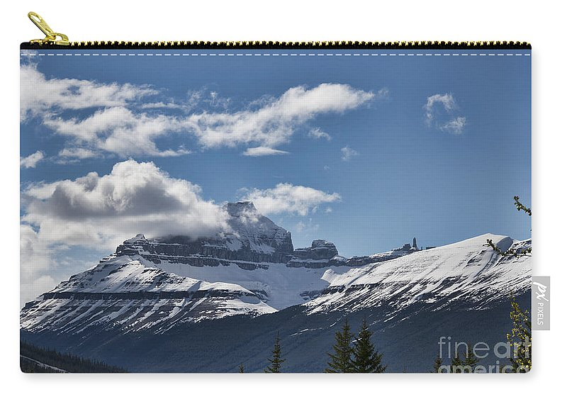 Mountains Carry-all Pouch featuring the photograph Clouds Sky Mountains by David Arment