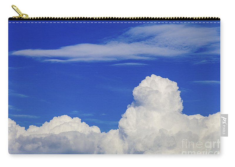 Cloud Carry-all Pouch featuring the photograph Cloudscape by Diane Macdonald