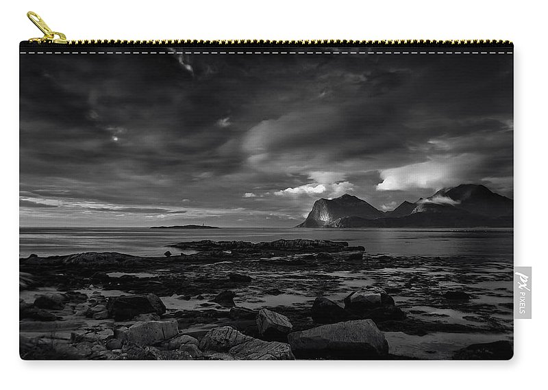 Bay Carry-all Pouch featuring the photograph Coast 16 by Ingrid Smith-Johnsen