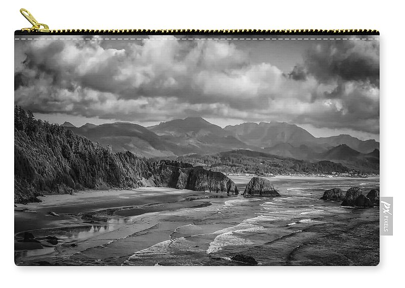 Bay Carry-all Pouch featuring the photograph Coast 5 by Ingrid Smith-Johnsen