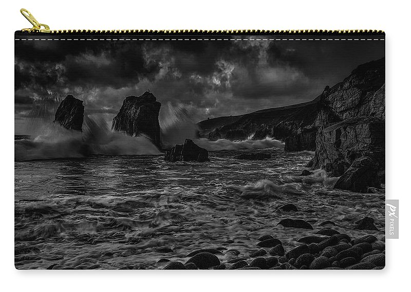 Bay Carry-all Pouch featuring the photograph Coast 12 by Ingrid Smith-Johnsen