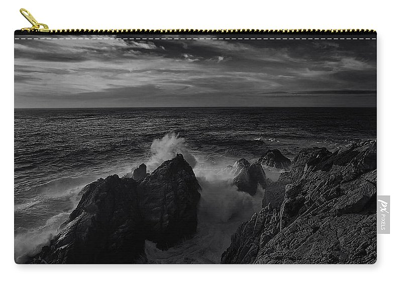 Bay Carry-all Pouch featuring the photograph Coast 10 by Ingrid Smith-Johnsen