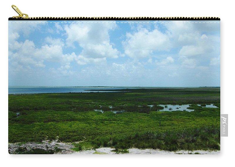 Refuge Carry-all Pouch featuring the photograph Coastal Aransas Nwr by Lizi Beard-Ward