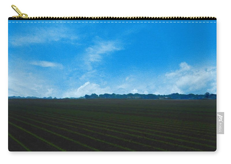 Farm Carry-all Pouch featuring the photograph Coastal Farm Country Texas by Lizi Beard-Ward