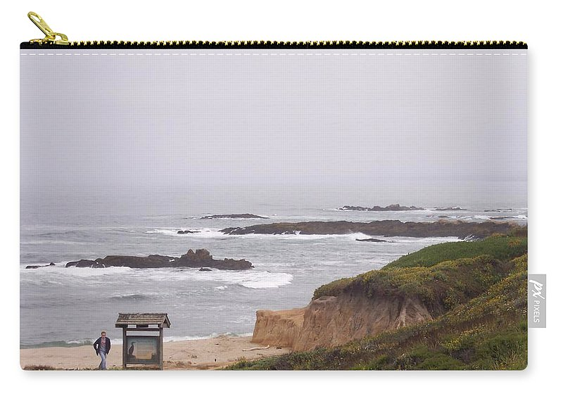 Coast Carry-all Pouch featuring the photograph Coastal Scene 7 by Pharris Art