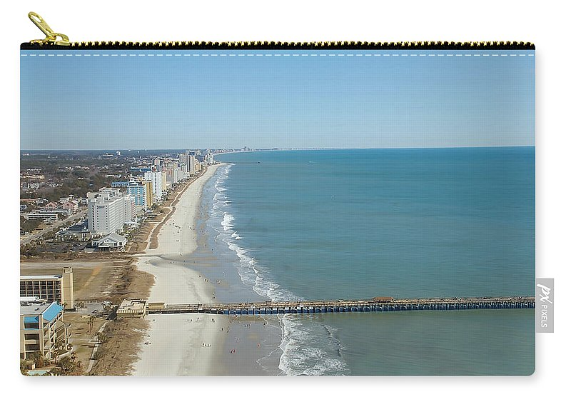 Coast Carry-all Pouch featuring the photograph Coastal View by Aimee L Maher ALM GALLERY