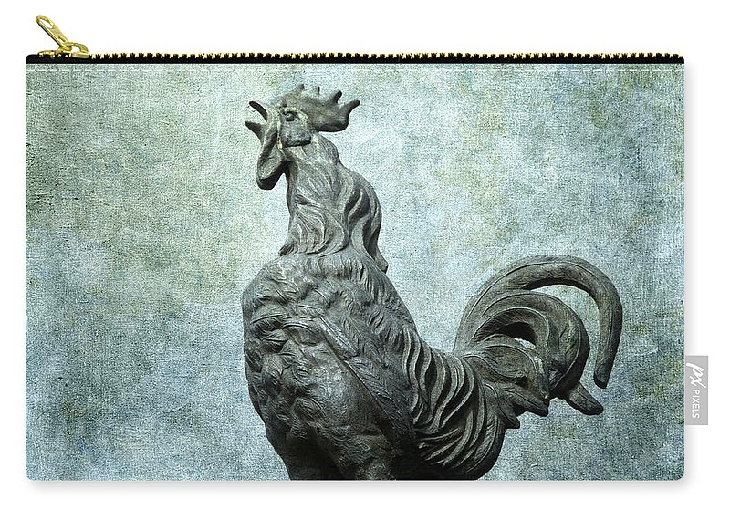 Animal Carry-all Pouch featuring the photograph Cock by Bernard Jaubert