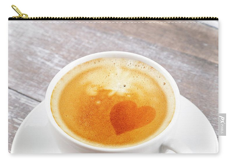 Cappuccino Carry-all Pouch featuring the photograph Coffee by Focusstock