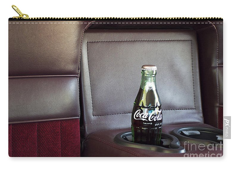 Coke Carry-all Pouch featuring the photograph Coke To Go by Gwyn Newcombe