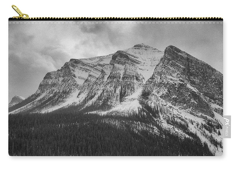 Mountain Carry-all Pouch featuring the photograph Cold Face by Douglas Barnard