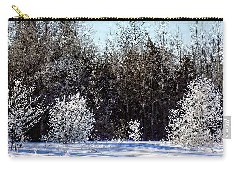 Winter Carry-all Pouch featuring the photograph Cold Magic by William Tasker