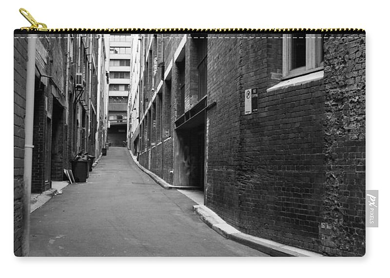 Alley Carry-all Pouch featuring the photograph Collection Night by Kaleidoscopik Photography