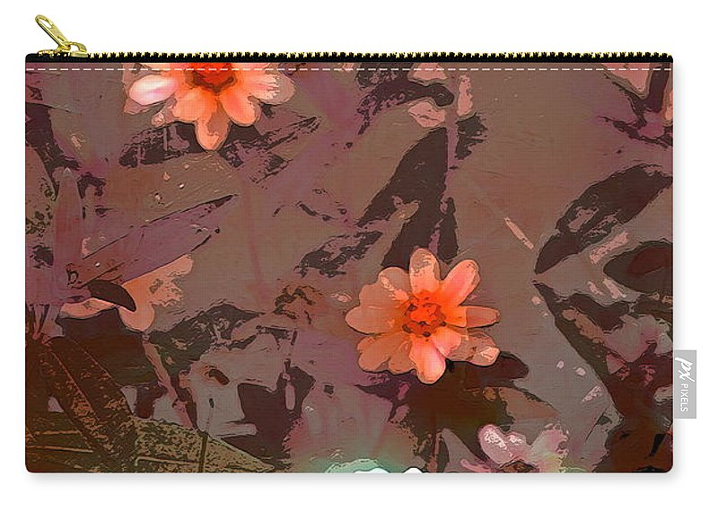 Floral Carry-all Pouch featuring the photograph Color 122 by Pamela Cooper