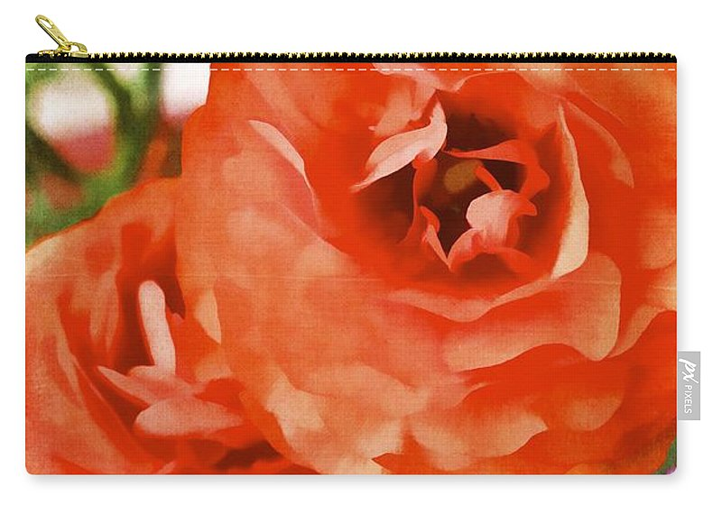 Floral Carry-all Pouch featuring the photograph Color 141 by Pamela Cooper