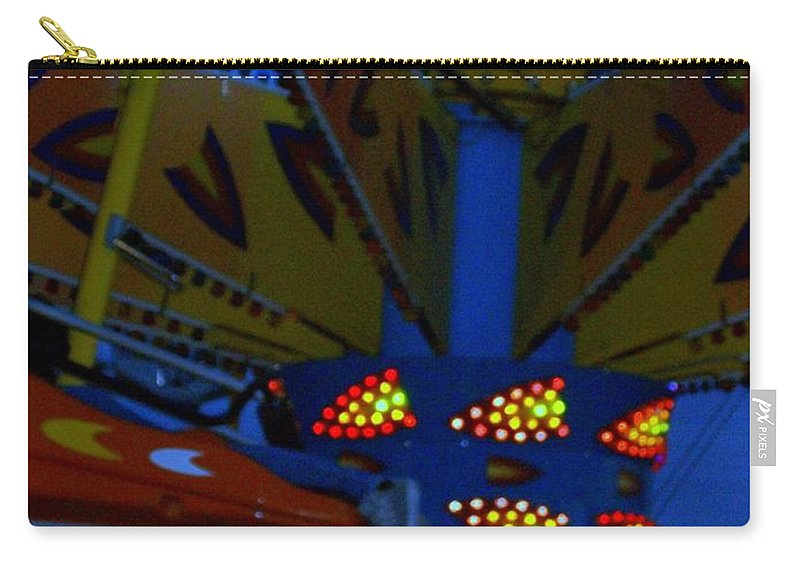 Picasa Carry-all Pouch featuring the photograph Color Bam by Laurette Escobar
