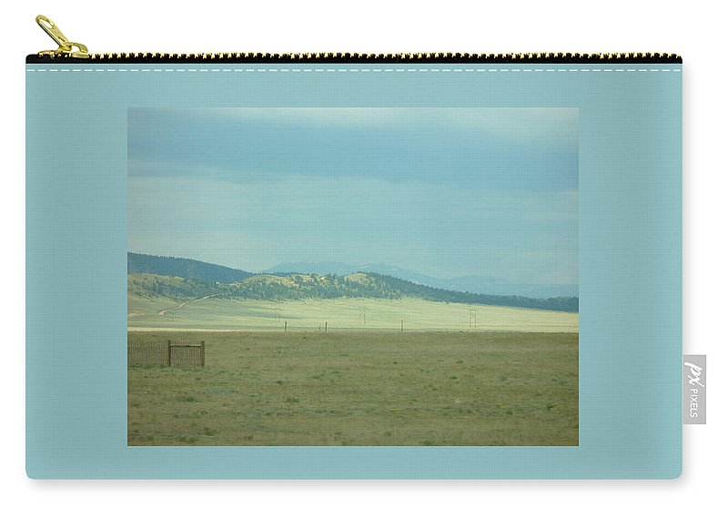 Lyle Carry-all Pouch featuring the painting Colorado - Landscape by Lord Frederick Lyle Morris - Disabled Veteran