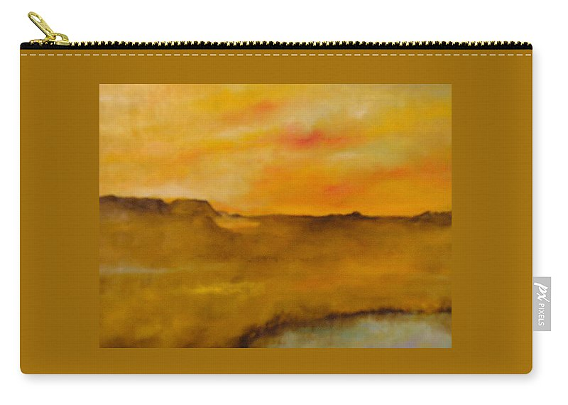 Sun Carry-all Pouch featuring the painting Colorado I by Lord Frederick Lyle Morris - Disabled Veteran