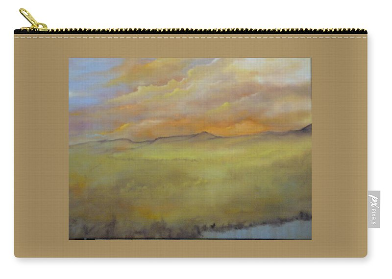 Landscape Carry-all Pouch featuring the painting Colorado IIi by Lord Frederick Lyle Morris - Disabled Veteran