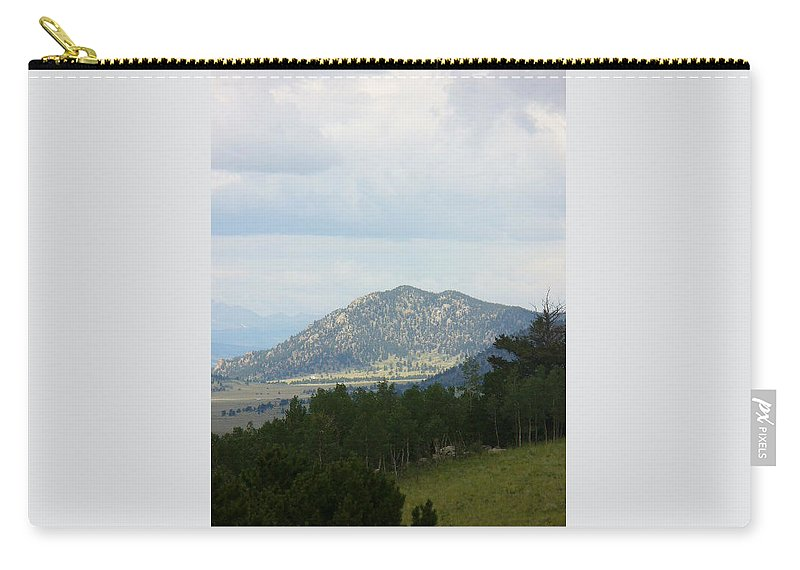 Lyle Carry-all Pouch featuring the painting Colorado Mont by Lord Frederick Lyle Morris - Disabled Veteran