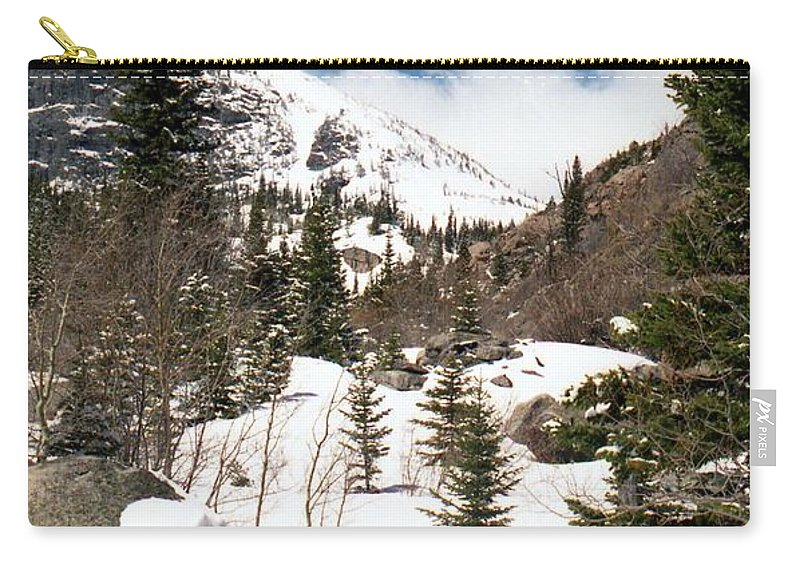 Rocky Mountain National Park Carry-all Pouch featuring the photograph Colorado - Rocky Mountain National Park 02 by Pamela Critchlow