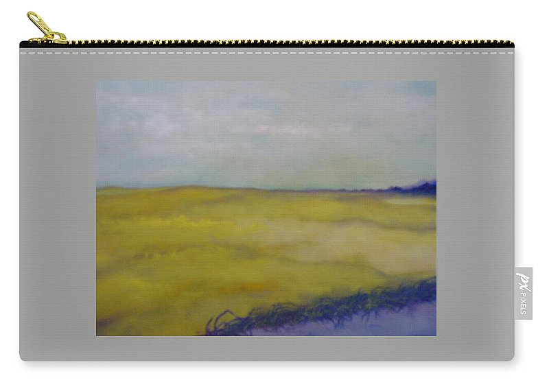 Yellow Carry-all Pouch featuring the painting Colorado V by Lord Frederick Lyle Morris - Disabled Veteran