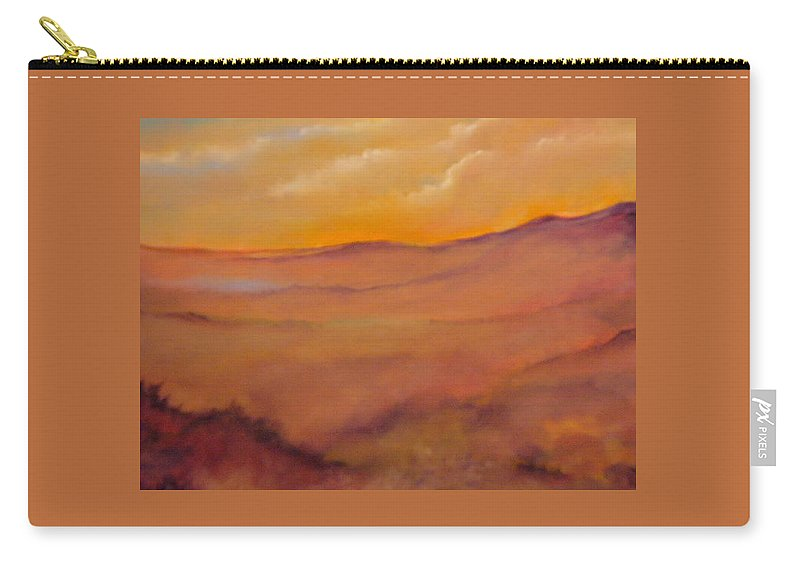 Colorado Carry-all Pouch featuring the painting Colorado Vii by Lord Frederick Lyle Morris - Disabled Veteran