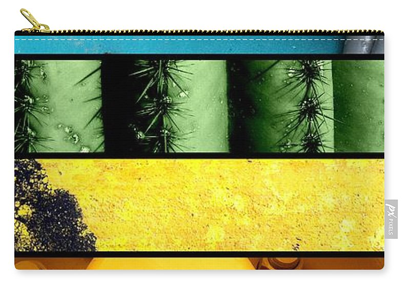 Compilation Carry-all Pouch featuring the photograph Coloration by Marlene Burns