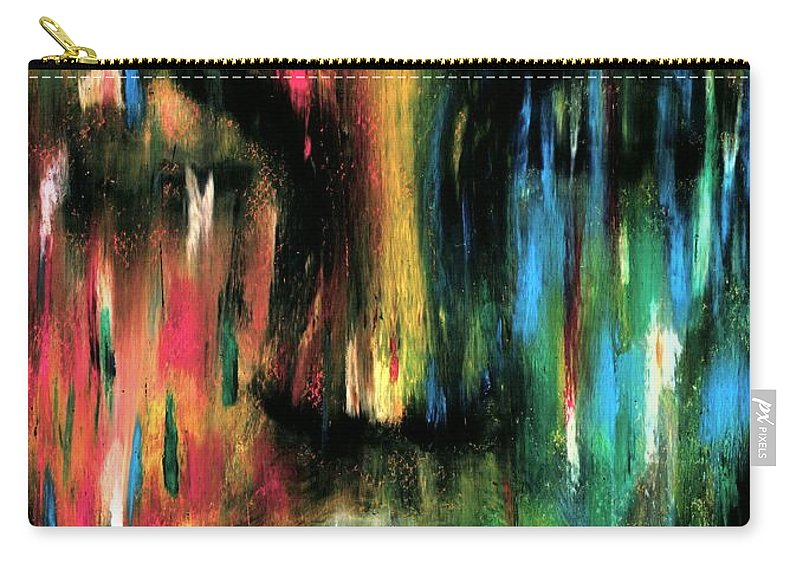 Colorful Carry-all Pouch featuring the photograph ColorBlind by Artist RiA