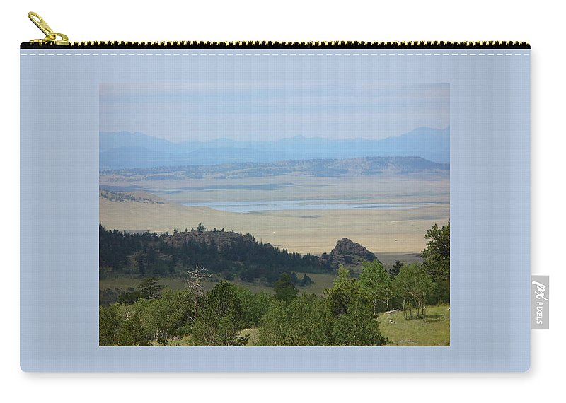 Lyle Carry-all Pouch featuring the painting Colordo Dreaam by Lord Frederick Lyle Morris - Disabled Veteran