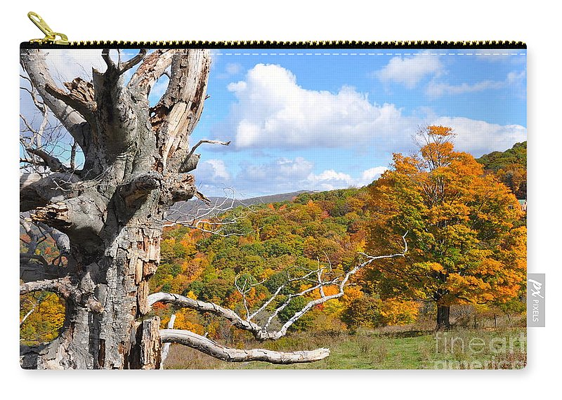 Fall Carry-all Pouch featuring the photograph Colors by Christina McKinney