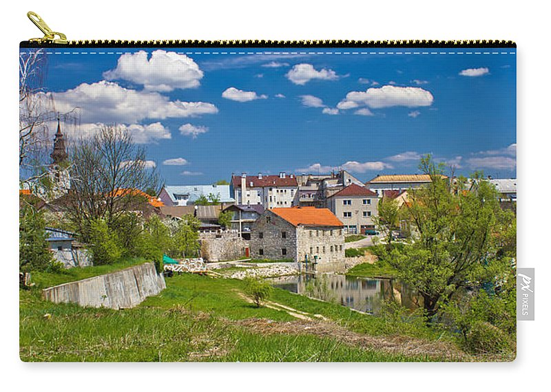 Croatia Carry-all Pouch featuring the photograph Colors Of Gospic Capital Of Lika by Brch Photography