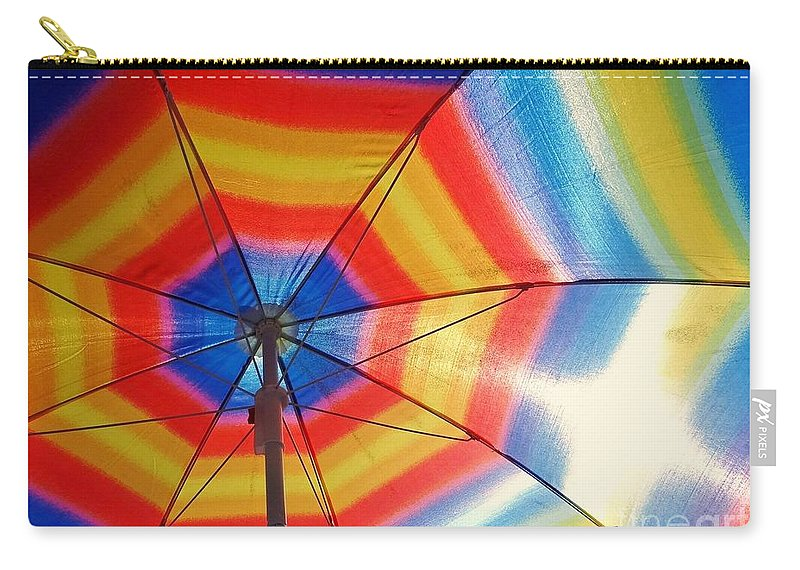 Rainbow Carry-all Pouch featuring the photograph Colors Of Summer by Ed Weidman