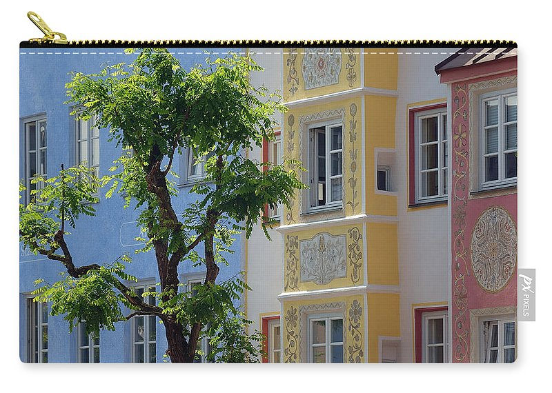 Nag004089 Carry-all Pouch featuring the photograph Colors Of Time 01 by Edmund Nagele