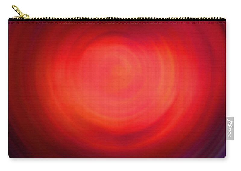 Vortex Carry-all Pouch featuring the digital art The #4 Colors Of Your Soul by Marcello Cicchini