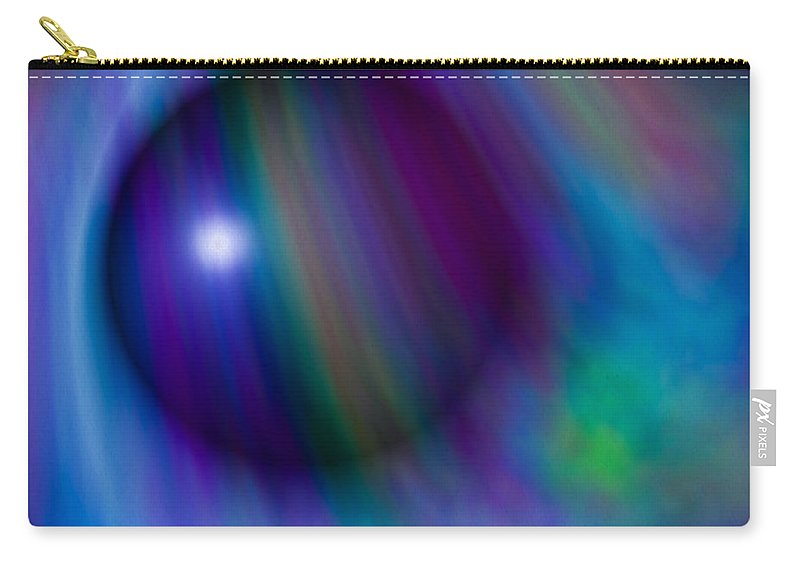 Artmatic Carry-all Pouch featuring the digital art Colours Of Creation by Hakon Soreide