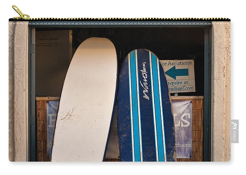 Beach Carry-all Pouch featuring the photograph Come Here Often by Peter Tellone