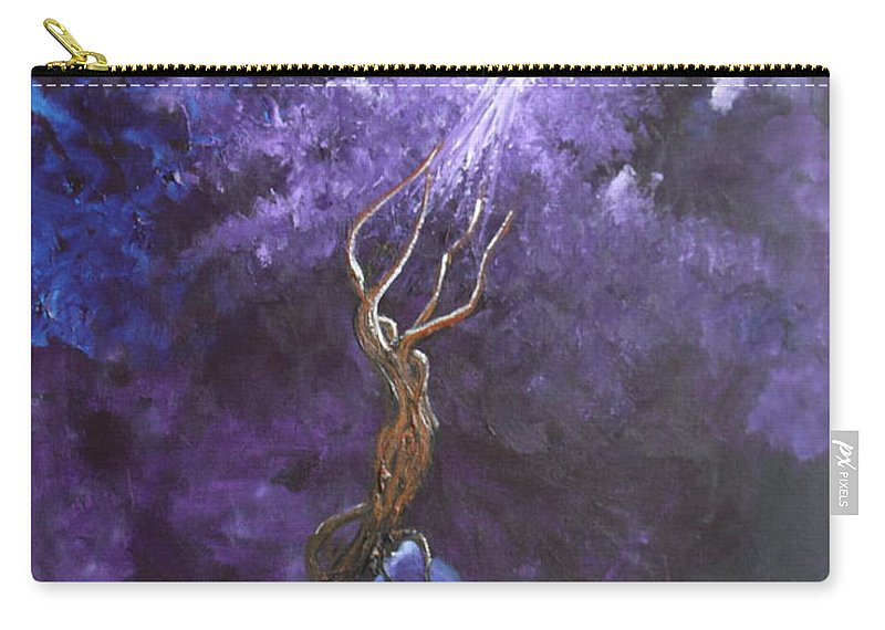 Landscape Carry-all Pouch featuring the painting Come To Me by Stefan Duncan
