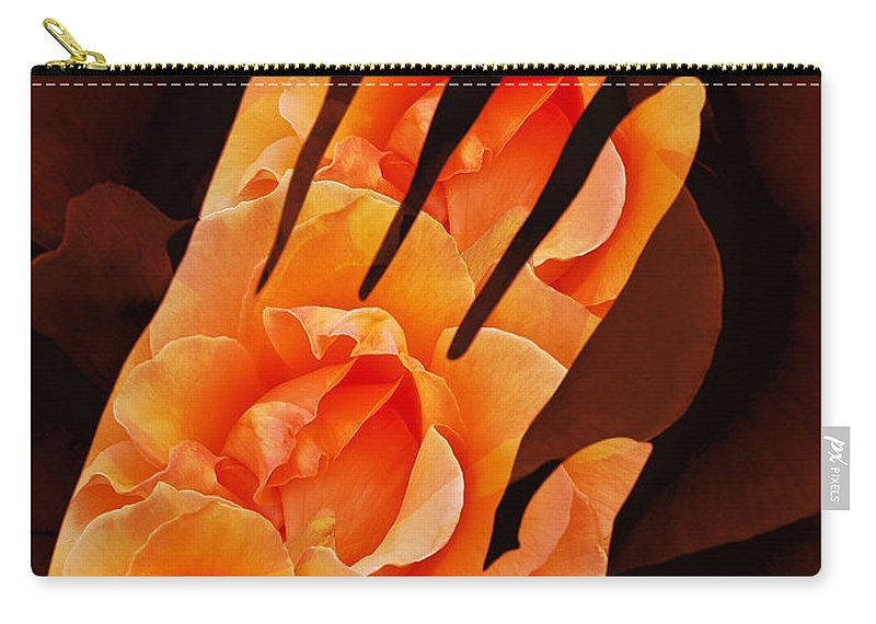 Surrealism Carry-all Pouch featuring the digital art Comfort Color Version by Fei A