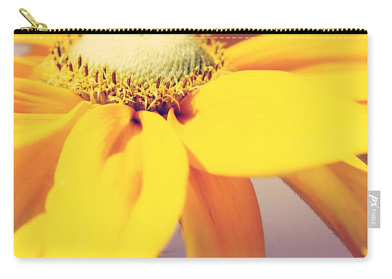 Flowers Carry-all Pouch featuring the photograph Comfort In Me by The Artist Project