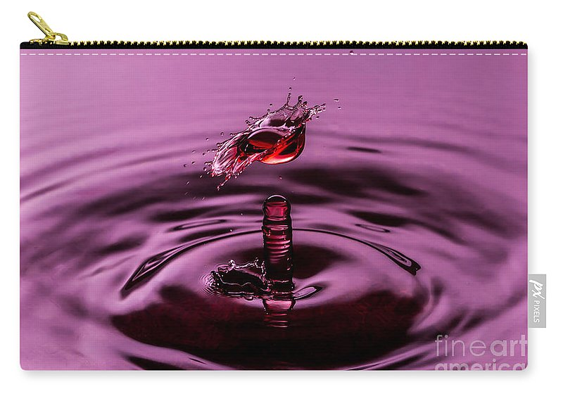 Water Carry-all Pouch featuring the photograph Coming Alive by Anthony Sacco