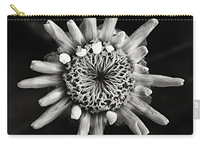 Flower Carry-all Pouch featuring the photograph Coming Out by Robert Woodward