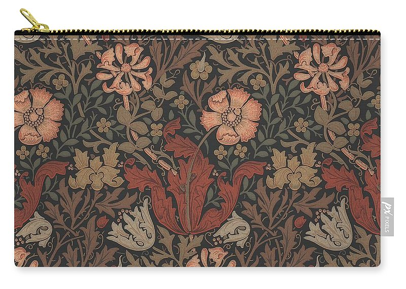 William Carry-all Pouch featuring the tapestry - textile Compton Design by Philip Ralley