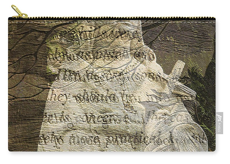 Nature Carry-all Pouch featuring the photograph Concern - Faith - Nature by Marie Jamieson