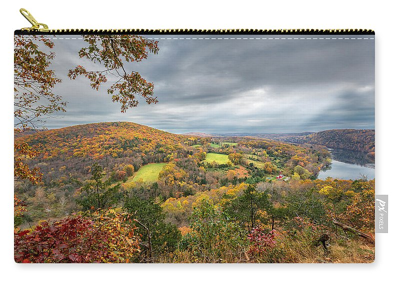 New England Landscape Carry-all Pouch featuring the photograph Connecticut Country by Bill Wakeley