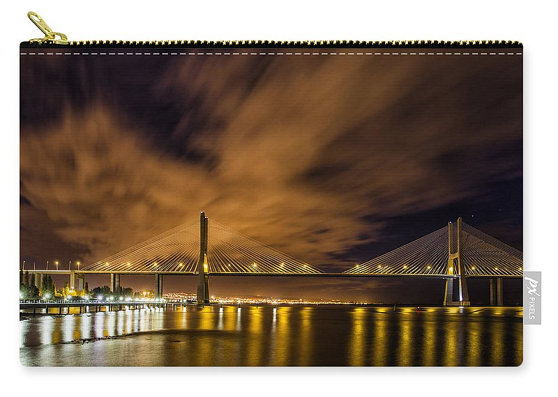 Bridge Carry-all Pouch featuring the photograph Connections by Jose Bispo